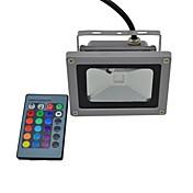 440 lm LEDフラッドライト 1 LEDの 集積LED 防水 リモコン操作 RGB AC85-265V
