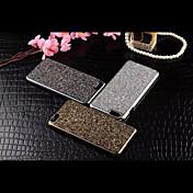 Funda Para Apple iPhone 6 iPhone 6 Plus Diamantes Sintéticos Funda Trasera Brillante Dura Metal para iPhone 6s Plus iPhone 6s iPhone 6