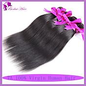 人間の髪編む ペルービアンヘア ストレート 6ヶ月 1個 ヘア織り