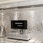 Art Decó Fondo de pantalla Para el hogar Contemporáneo Revestimiento de pared , Papel no tejido Material adhesiva requerida papel pintado