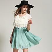 ヨーロッパとアメリカの夏の新作ノースリーブブラウスプリーツフラワーステッチドレス子供