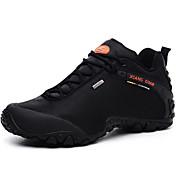 Hombre Zapatos Tela Invierno Primavera Verano Otoño Confort Zapatillas de Atletismo Senderismo para Deportivo Casual Work & Safety Negro