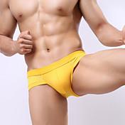 男性用 メンズ ボーイズ風ショーツ&ブリーフ ブリーフ,純色 セクシー バストアップ