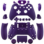 Xboxの1の交換用コントローラケースシェル(紫/黄/緑)