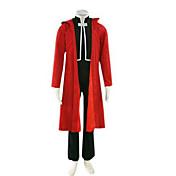 Inspirado por Fullmetal Alchemist Edward Elric Animé Disfraces de cosplay Trajes Cosplay Retazos Manga Larga Chaqueta Chalecos Pantalones