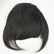 100%人間の髪の毛は、キュートなスタイルの前髪前髪