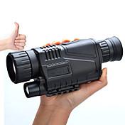 5-8X40 mm 単眼鏡 ナイトビジョンゴーグル 軍隊 一般用途向け ハンティング 軍隊 BAK4 全面マルチコーティング 5*3.75 センターフォーカス