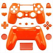 PS4コントローラーPS4ケース(ピンク/パープル/オレンジ)用の交換用コントローラケース