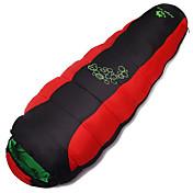 Bolsa de dormir Saco Mummy Sencilla +10 Algodón Vacío Mantiene abrigado A Prueba de Humedad Bien Ventilado Secado rápido Resistente al