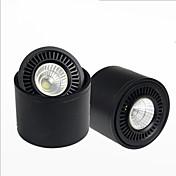 シーリングライト 1 LEDの COB 装飾用 温白色 クールホワイト 500lm 3000/6000K AC 85-265V