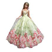 Corte Princesa Vestidos por Muñeca Barbie  Vestidos por Chica de muñeca de juguete