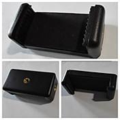カメラや携帯電話とPCのウェブカメラ用1/4 ''ネジ+ ipadのクランプ+電話クランプ付きアルミ合金三脚