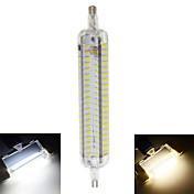 800 lm R7S LEDコーン型電球 T 152 LEDの SMD 4014 防水 装飾用 温白色 クールホワイト AC 220-240V