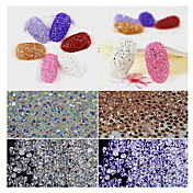 300pcs Mantianxing parte inferior de color transparente de uñas stick taladro de cristal de circón cristal micro perforación VVS-vs