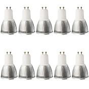 5W 400-450 lm GU10 LEDスポットライト MR16 1 LEDの COB 調光可能 装飾用 温白色 クールホワイト AC 100-240V AC 110〜130V