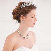 aleación tiaras diademas guirnaldas pelo herramienta casco elegante estilo