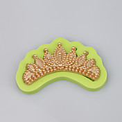 Molde elegante de la joyería moldeó la corona formó el silicón al por mayor del silicón moldea color al azar