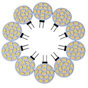 3W G4 Luces LED de Doble Pin T 15 leds SMD 5730 Decorativa Blanco Cálido Blanco Fresco 200-300lm 3000/6000K DC 12V