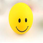cara de la sonrisa de luz la noche cambiantes colores intermitentes lámpara LED