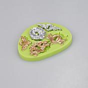 llave en forma de molde de silicona fondant herramientas de decoración de pasteles dulces de chocolate moldcolor al azar