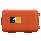屋外の生存耐水性抗ショック密封された収納ケース容器 - 黒/オレンジ/カーキ(小)
