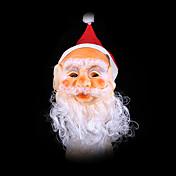 Julemanden Maske Julepynt Proteser Med Julemandens Mangler Hat