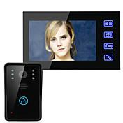 Ennio sistema de teléfono de la puerta de intercomunicación de vídeo timbre de la puerta 7 botón táctil desbloquear remoto de la cámara