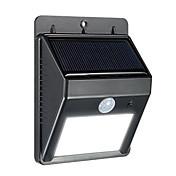 太陽光urpower 8はパティオ デッキヤード 庭 ドライブウェイ 屋外壁のための屋外の太陽光発電のワイヤレス防水セキュリティモーションセンサーライトを導きました