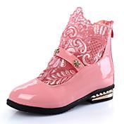 Chica Zapatos PU Invierno Confort / Botas de nieve Botas Paseo Cremallera para Blanco / Negro / Rosa