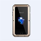 Para iPhone 8 iPhone 8 Plus iPhone 7 iPhone 6 Funda iPhone 5 Carcasa Funda Antigolpes Cuerpo Entero Funda Armadura Dura Metal para Apple