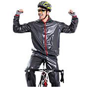 Maillot de Ciclismo con Mallas Unisex Manga Larga Bicicleta Impermeable Sets de Prendas Impermeable Resistente al Viento Resistente a la