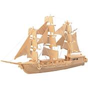 Puzzles de Madera De Combate Barco Nivel profesional De madera 1pcs Niños Chico Regalo