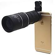 16X52 mm Monokulær Beskyttet mod tåge Generisk Bæretaske Søgekikkert Generelt Brug Jagt Mobiltelefon BAK4 Multilag 22 Central fokusering