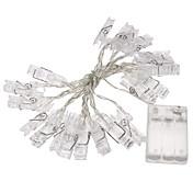 2m Cuerdas de Luces 20 LED Diodo LED Impermeable 100-240 V / IP44