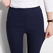 スポットは、実際の2017年春モデルのキャンディカラーのレギンスパンツの足のズボン女性のズボンを完全なコードを撃ちました
