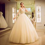 vestido de bola tulle vestido de novia de tulle por yuanfeishani