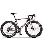 Bicicletas Confort Bicicletas de carretera Ciclismo 14 Velocidad 26 pulgadas/700CC SHIMANO ST A070 Disco de Freno Sin AmortiguadorCuadro