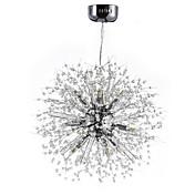 Esfera Lámparas Araña Para Sala de estar Comedor Habitación de estudio/Oficina AC 100-240V Bombilla incluida