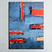 手描きの 抽象画 静物画 横長,Modern 欧風 1枚 ハング塗装油絵 For ホームデコレーション