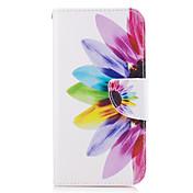 Funda Para Samsung Galaxy A5(2017) A3(2017) Cartera Soporte de Coche con Soporte Flip Cuerpo Entero Flor Dura Cuero Sintético para A3