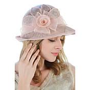 Mujer Primavera Verano Otoño Bonito Fiesta Trabajo Casual Lino Sombrero Playero Sombrero para el sol,Sólido