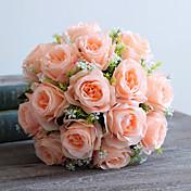 1 Rama Seda Rosas Flores Artificiales