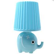 Kly enchufar pequeña lámpara LED de la noche del elefante del estilo de la lámpara de la noche creativa de dibujos animados