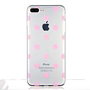 のために クリア パターン ケース バックカバー ケース 幾何学模様 タイル ソフト TPU のために Apple iPhone 7プラス iPhone 7 iPhone 6s Plus iPhone 6 Plus iPhone 6s iphone 6