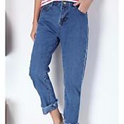 サイン〜新しい春のデニムパンツの韓国版バージョンのパンストファッションのハロースポット `
