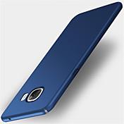 Funda Para Samsung Galaxy A5(2017) A3(2017) Congelada Cubierta Trasera Color sólido Dura Policarbonato para A3 (2017) A5 (2017) A7 (2017)