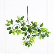1 ブランチ ポリエステル プラスチック 植物 ウォールフラワー 人工花