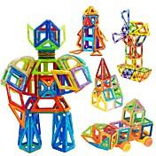 ブロックおもちゃ 知育玩具 ジグソーパズル 磁気ブロック 磁気建築セット おもちゃの車 おもちゃ 方形 サーキュラー 三角形 3D 指定されていません 男の子用 小品