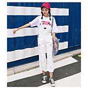 レディース キュート ストリートファッション ミッドライズ ストレート strenchy オーバーオール パンツ ゼブラプリント