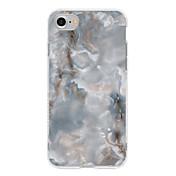 Iphone 7 iphone 6s más caso de la cubierta del caso cubierta trasera del caso gradiente de color suave tpu para appleiphone 7 más iphone 6